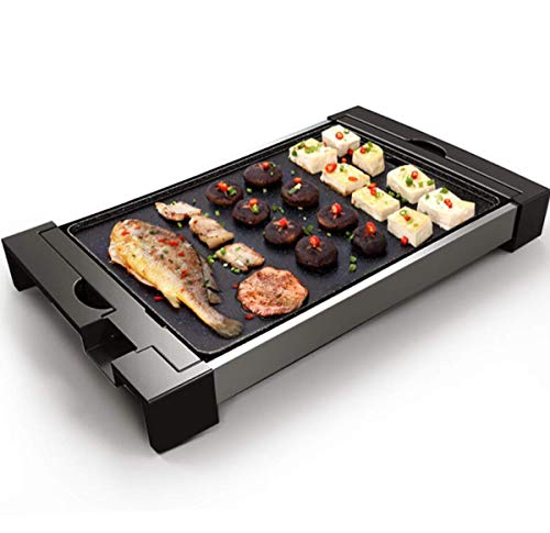41E4wbfLT4L - WJJJ BBQ Baking Tray Maifanshi Elektrischer Baking Pan Non-Stick Grill Tray Multi-Function Household Grill Tray Removable Washable