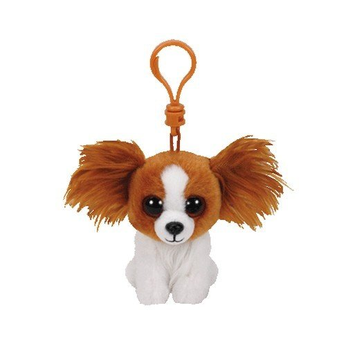 TY Barks Dog 36657 Hund mit Glitzeraugen, Mehrfarbig