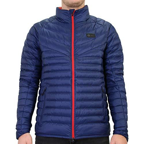 Nike Herren PSG M NSW Dwn JKT AUT Cl Weste, Mitternacht-Marineblau/Universität-rot, L