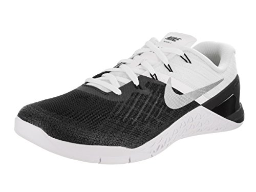 Nike Men's Cross Trainers black Black/White/Metallic Silver