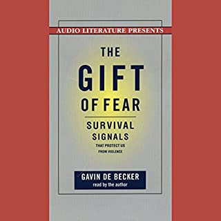 The Gift of Fear audiobook cover art