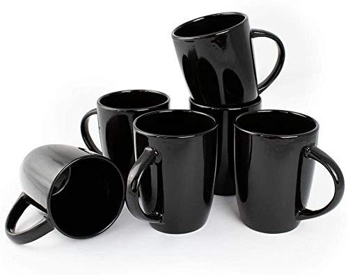 6 Keramikbecher und Teetassen, kreative Kaffeetassen mit Frühstücksmilch, ideale Geschenke für Männer und Frauen