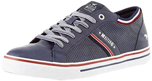 MUSTANG Herren 4147-308 Sneaker, Navy, 43 EU