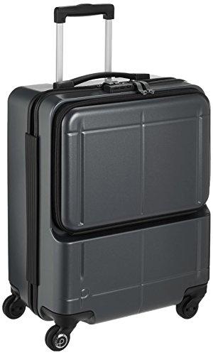 [プロテカ] スーツケース 日本製 マックスパスH2s サイレントキャスター 機内持ち込み可 保証付 40L 46 cm 3.3kg ガンメタリック