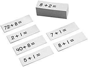 MONTESSORI OUTLET Addition Working Chart Problems Slips
