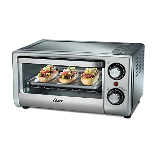 Oster TSSTTV10LTB 4 Slice Toaster Oven for 220/240 volt (Will not work in USA)