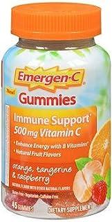 Emergen-C Immune Support - 45 Gummies, Pack of 3