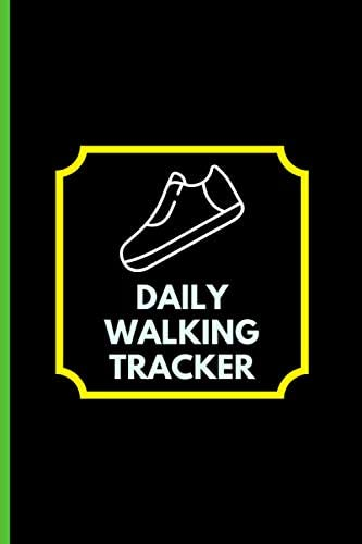 Daily Walking Tracker Walkers Record Book Heart Rate Healthy Lifestyle Fitness Goals Gifts for product image