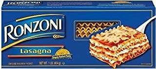 Ronzoni Lasagna Enriched Macaroni 16 Oz. Pack Of 3.
