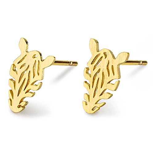 JOE COOL Stud Earring Zebra Made with Tin Alloy
