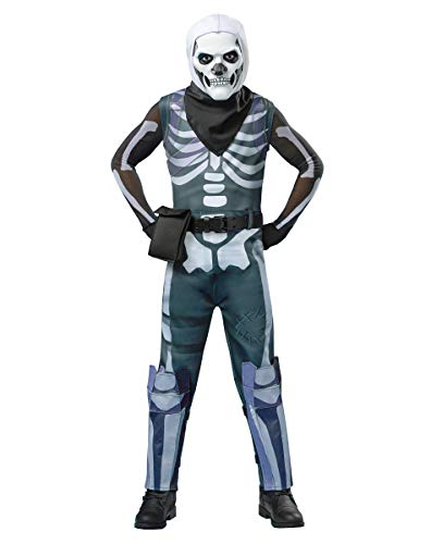 Spirit Halloween Kids Fortnite Skull Trooper Costume - L