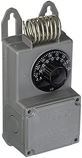 Peco TF115-001 NEMA 4X Line Voltage Thermostat, Gray by PECO