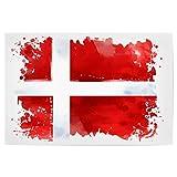 artboxONE Poster 30x20 cm Reise Flagge Dänemark