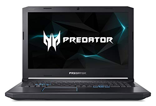 Acer Predator Helios 500 PH517-61-R0GX Gaming Laptop, AMD Ryzen 7 2700 Desktop Processor, AMD Radeon RX Vega 56 Graphics, 17.3' Full HD 144Hz Radeon FreeSync Display, 16GB DDR4, 256GB PCIe NVMe SSD