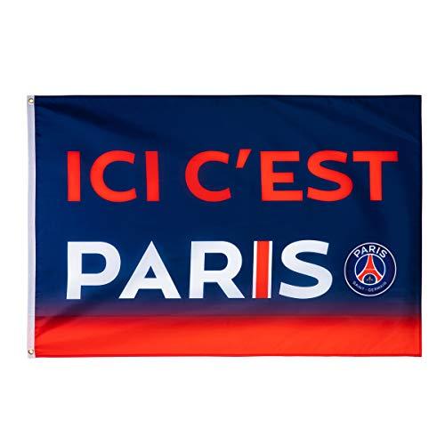 Paris Saint-Germain Flagge PSG, offizielle Kollektion