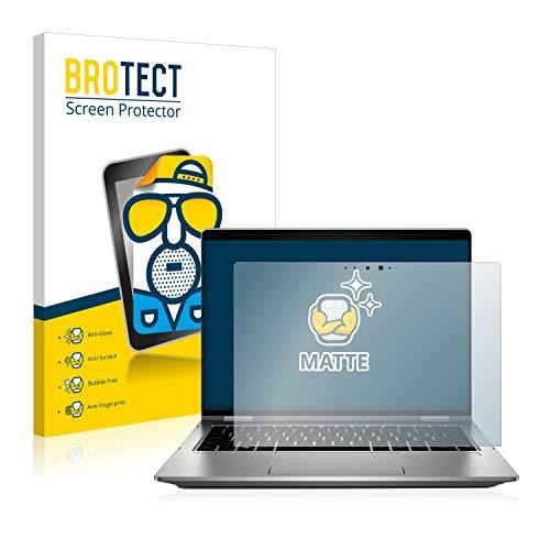 BROTECT Entspiegelungs-Schutzfolie kompatibel mit HP ProBook x360 435 G7 Bildschirmschutz-Folie Matt, Anti-Reflex, Anti-Fingerprint