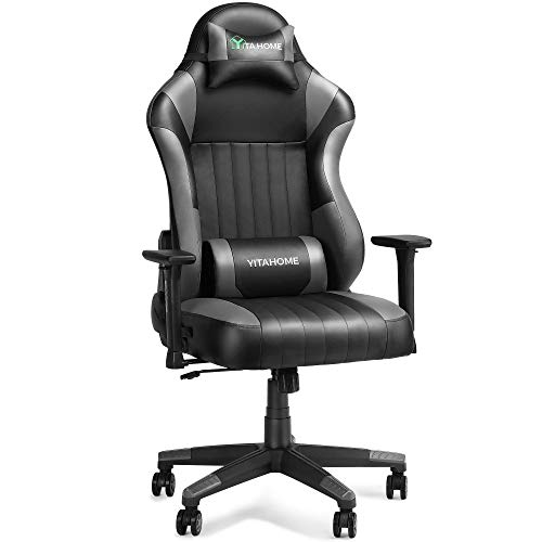 YITAHOME Gaming Chair Big Tall 400lbs Ergonomic Racing Recliner Office Computer Rocking Game Chair...
