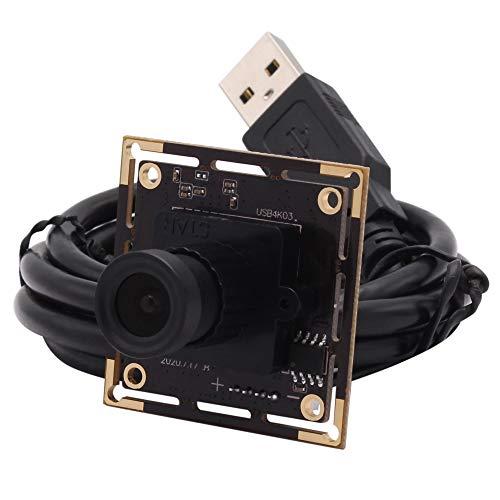 Tivivose Cámara USB 4K 3840x2160 Módulo de cámara USB Sony IMX415 MJPET 30FPS Módulo de cámara de cámara Web de Alta Velocidad para Android Linux Windows (Focus : 6mm)