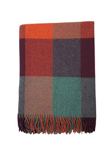 McLaughlin's Irish Shop Gewebte Irische Wolldecke aus Lambswool von John Hanly