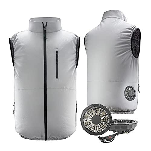 【Amazon限定ブランド】空調服 ベスト 空冷服