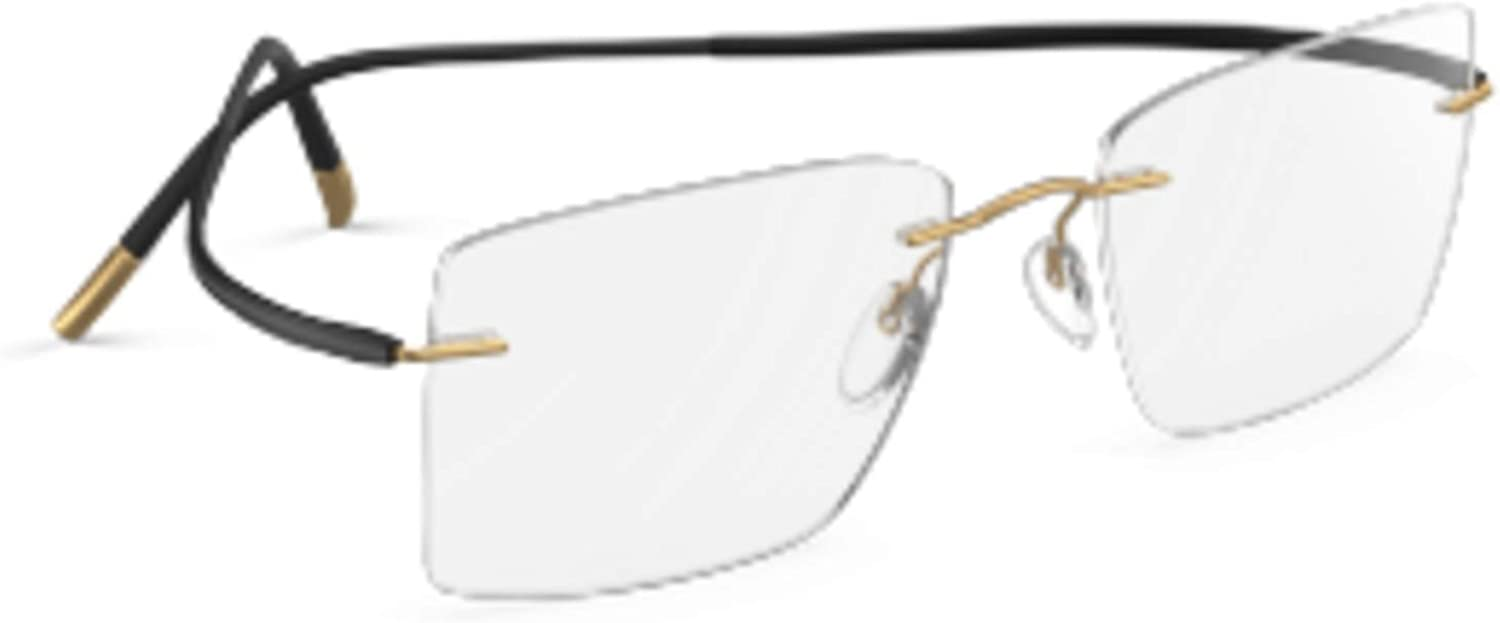 Eyeglasses Silhouette Max 49% OFF Essence 5523 7630 155 54 Selling and selling Black 19 Style