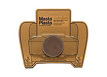 MastaPlasta Self-Adhesive Premium Suede Repair Patch Small Circle Brown - 2 Inch - First-aid for Sofas car Seats & More