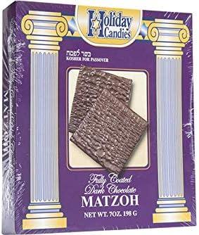 Kosher For Passover Matzah Dark Chocolate Covered Matzo 7 oz product image