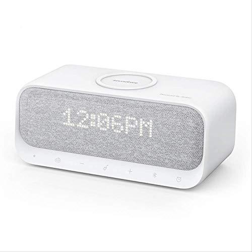 joule DespertadorAltavoces Bluetooth Soundcore Wakeycon Reloj Despertador, Sonido estéreo, Radio FM, Ruido Blanco