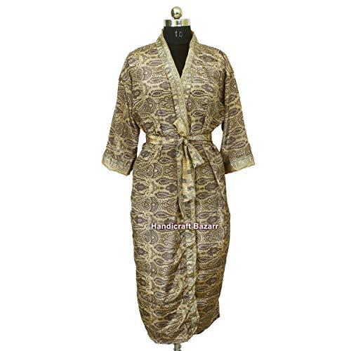 iinfinize India Hand Block Stampato Tradizionale Lungo Costumi Da Bagno Vestito Da Notte Taglia Gratuita Vestito Da Festa In Cotone Piscina Indossare Vestito Nuoto Bagno Tunica Lungo Abito