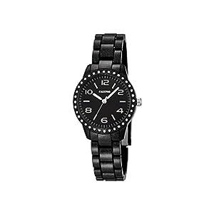 Calypso–Reloj de Mujer de Cuarzo con Negro Esfera analógica Pantalla