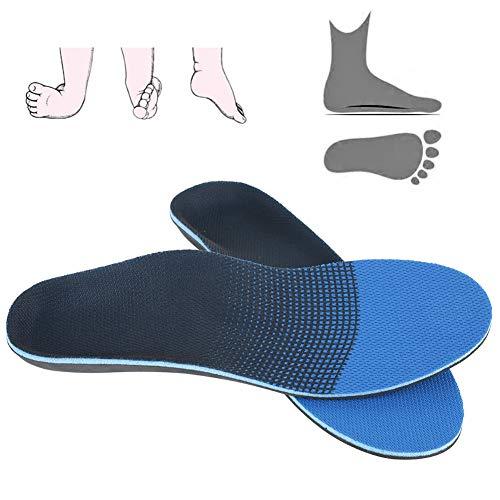 Plantillas para calzado ortopédico Arch Support Alta elasticidad y transpirabilidad para pies planos, dolor de pie, fascitis plantar [S 38-40], plantilla ortopédica Plantillas de EVA Cuidado o