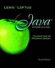 Java Software Solutions: Foundations of Program Design plus MyProgrammingLab with Pearson eText -- Access Card Package (7th Edition)
