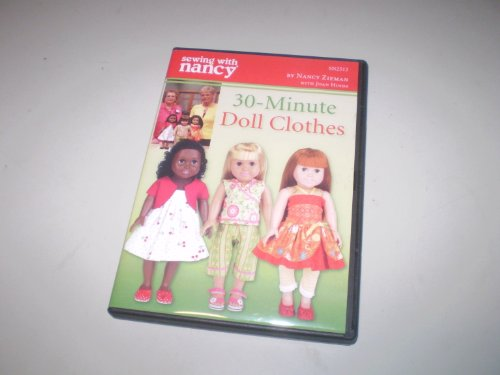 Sewing with Nancy DVD - 30-minute Doll Clothes