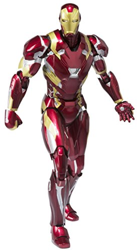 Captain America: Civil War - Iron Man Mark 46 [SH Figuarts] [Import Japon]