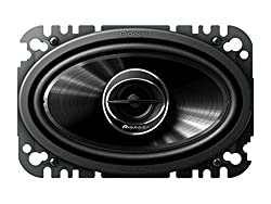 Pioneer TS-G4645R 4 x 6 inc G-Series 2-Way Speaker with 200W Max Power