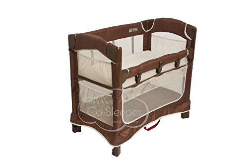 Learn More About Arm's Reach Concepts Mini Ezee 3-in-1 Bedside Bassinet - Cocoa/Natural