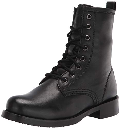 Skechers Women's Combat Fashion Boot, Black, 8.5