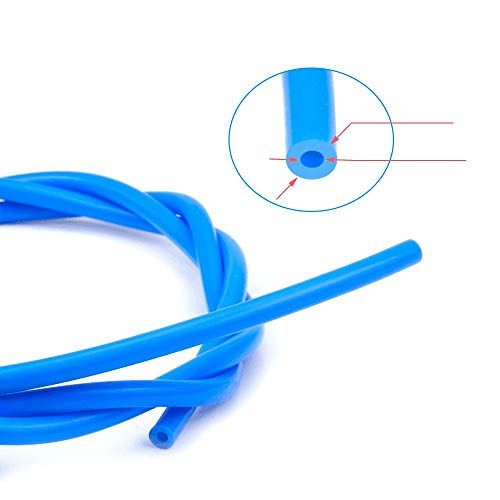WOVELOT Blue PTFE Tube 3D Printer Parts For RepRap Rostock J-head Hotend Bowden Extruder 1.75mm ID 2mm OD 4mm