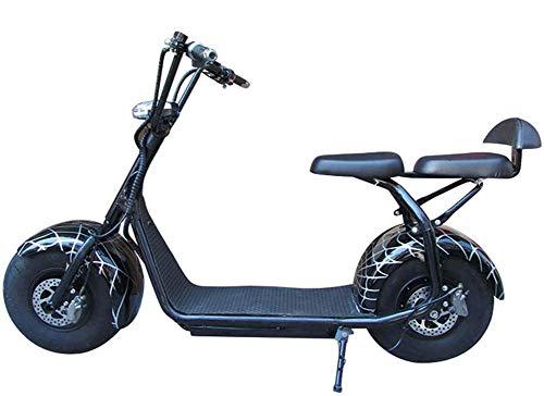 JXH 20in 1500W Bici elettrica Ebike EMTB Cruiser della Bicicletta 60V12ah Batteria ad Alta capacità Doppio Freno a Disco Meccanico 9.5 Fat Tire Bike Neve -45KM / H