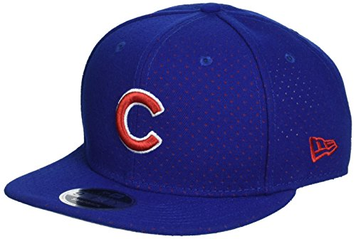 New Era Herren Snapback 9FIFTY Color Peek Chicago Cubs MLB Cap, Blue