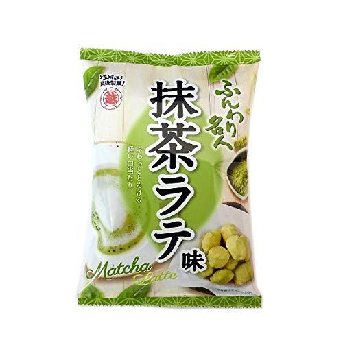 越後製菓 ふんわり名人 抹茶ラテ (30袋)