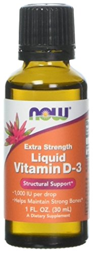 NOW Extra Forza Vitamina D-3 Integratore Alimentare Liquido - 30 ml