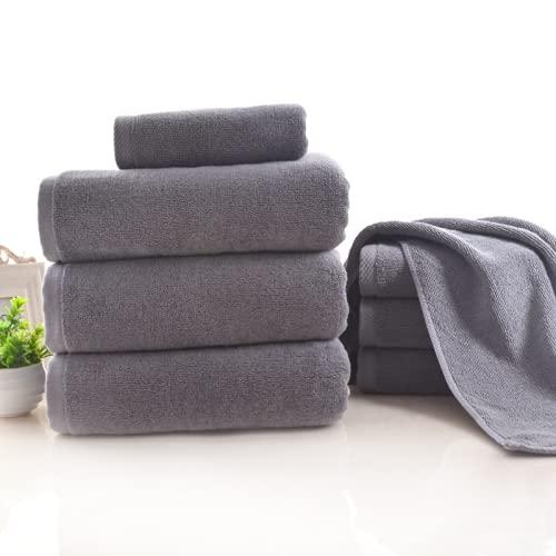 Toallas de lujo de alta calidad, toalla de baño al por mayor lotes de salón algodón gris toalla de toalla de toallas de toallas para adultos