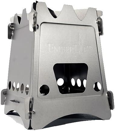Amazon com : Emberlit Titanium UL Compact Design Perfect for