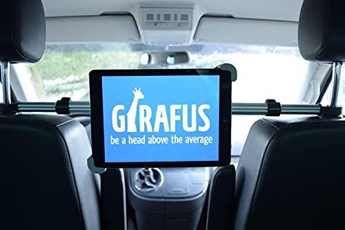 Girafus ®Relax H3 Universal SOPORTE ADJUSTABLE UNIVERSAL REPOSACABEZAS COCHE CABECERO PARA TABLET 9-10-11
