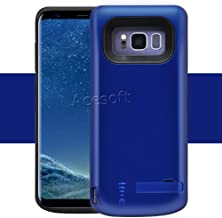 Galaxy S8 Backup Battery Case, 5000mAh Portable Charger Case Extended Charging Case Rechargeable Protective Case for Samsung Galaxy S8, SM-G950U (NOT for Galaxy S8 Plus)