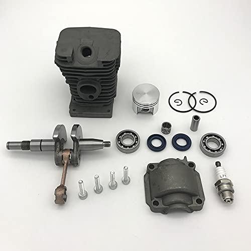 38MM cilindro pistón cigüeñal cojinete sello de aceite ajuste para STIHL MS180 MS180C MS 018 gasolina motosierra piezas del motor