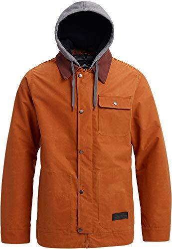Burton Mens Dunmore Jacket, Adobe Waxed, Large