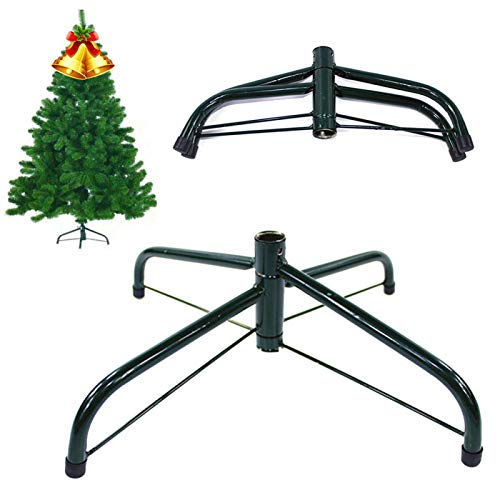 Christmas Tree Stand, Heavy Duty 4 Feets Artificial Christmas Tree Base | Foldable, Universal, Stable Tree Stand Base for for Christmas Tree Decorations