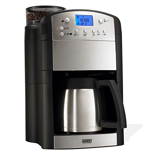 BEEM FRESH-AROMA-PERFECT Filterkaffeemaschine mit Mahlwerk - Thermo | BASIC SELECTION | 24h-Timer
